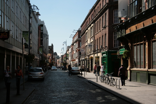 [Picture: Cobbled street 1]