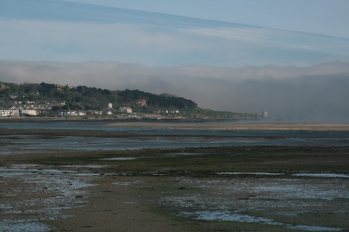 [Picture: Howth Point across the Bay]