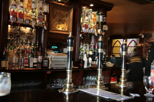 [Picture: In the bar]