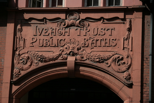 [Picture: Iveagh Trust Public Baths]