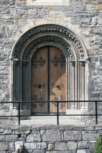 [Picture: Main door]