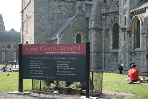 [Picture: Christ Church Cathedral]