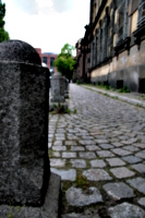 [picture: Bollards and Cobbles 1]