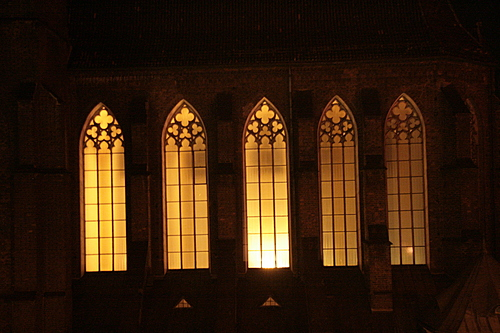 [Picture: Church windows]