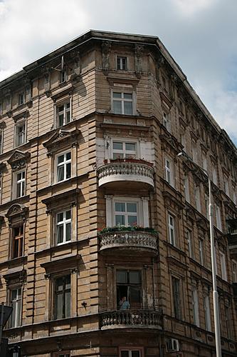 [Picture: Stone balconies]
