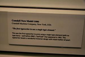 [picture: Crandall New Model (1886) 4: caption]