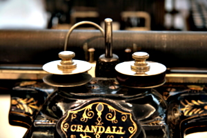 [picture: Crandall New Model (1886) 6: the ribbon]
