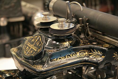 [Picture: Crandall New Model (1886) 2: ribbon]