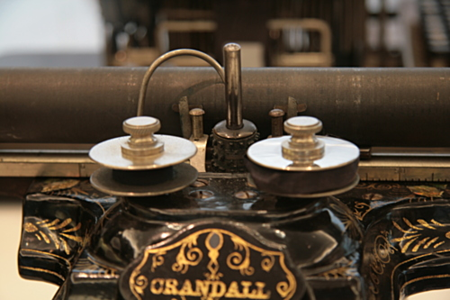 [Picture: Crandall New Model (1886) 5: the type element]