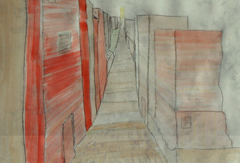 [Picture: City Street (unfinished)]