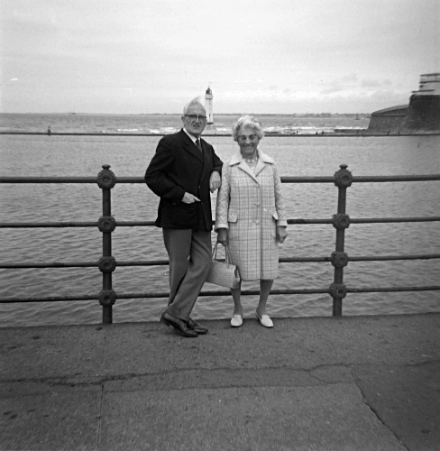 [Picture: 6.—Grandma and Grandpa at New Brighton]